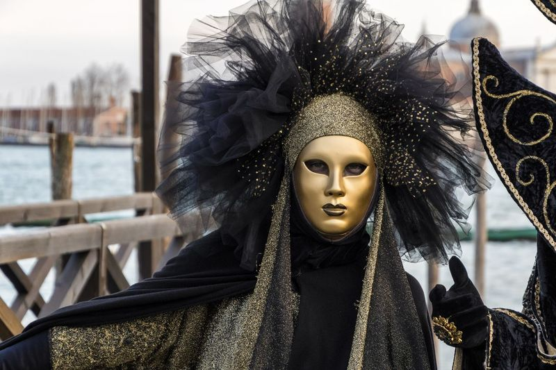 Carnival in Venice 2017 Carnival Disguise Fun Lifestyle Tradition Carnival - Celebration Event Close-up Costume Costumes Focus On Foreground Leisure Activity Mask - Disguise One Person Venetian Mask Venice