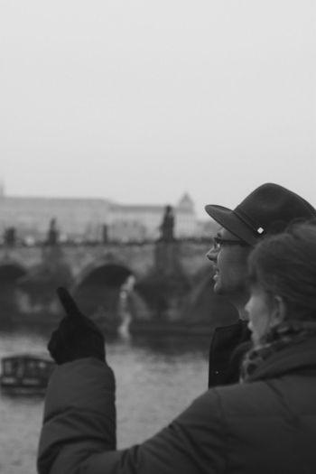 Adult Charles Bridge Czech Republic Friendship Human Hand Men Outdoors Prague Real People Street Streetphotography Two People Women