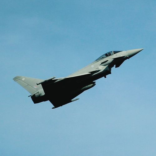 Typhoon aircraft Airplane Airshow Military Airplane Fighter Plane Flying
