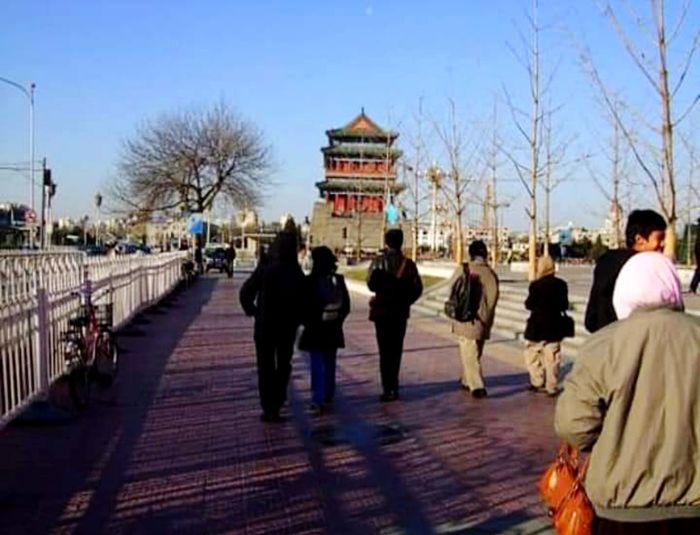 Walk to the Forbidden city Traveling Travel Destinations Travel Photography Ainn Al Amazing Clean Streets Forbidden City Travel Pagoda Pagoda Building Walking City Politics And Government Sky Architecture Historic Temple