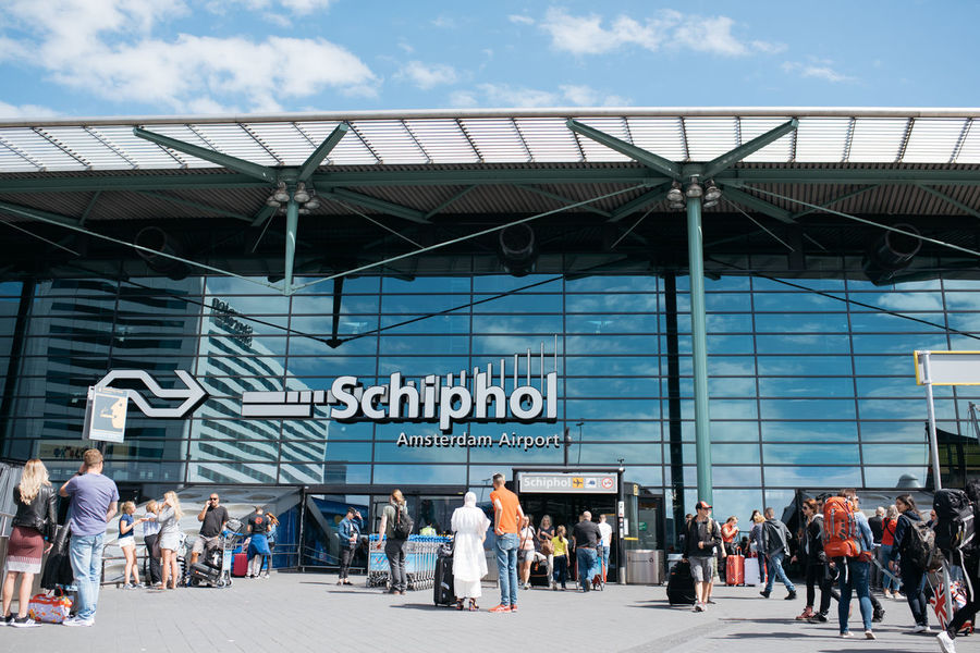 Travelling through Schipol airport Amsterdam Architecture Modern Netherlands Schipol  Travel Airport Arrival Blue Departure Schipolairport Your Ticket To Europe Investing In Quality Of Life Connected By Travel