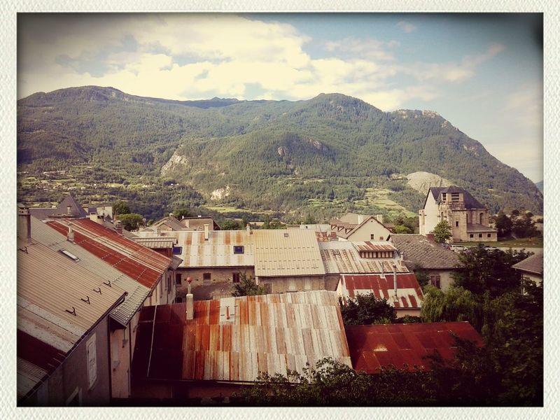 Sur Le Toit Eglise Montagne My Village Vauban