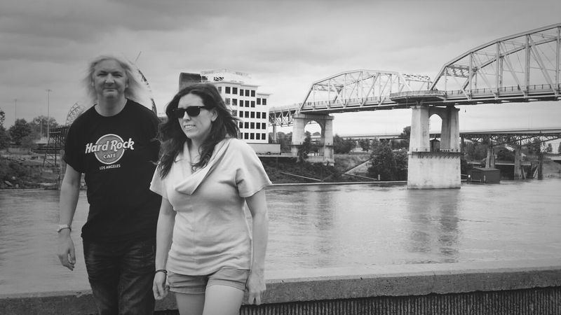 Friends Who ROCK Me, Not Pretty I Know Friends by the river (in Nashville, USA)