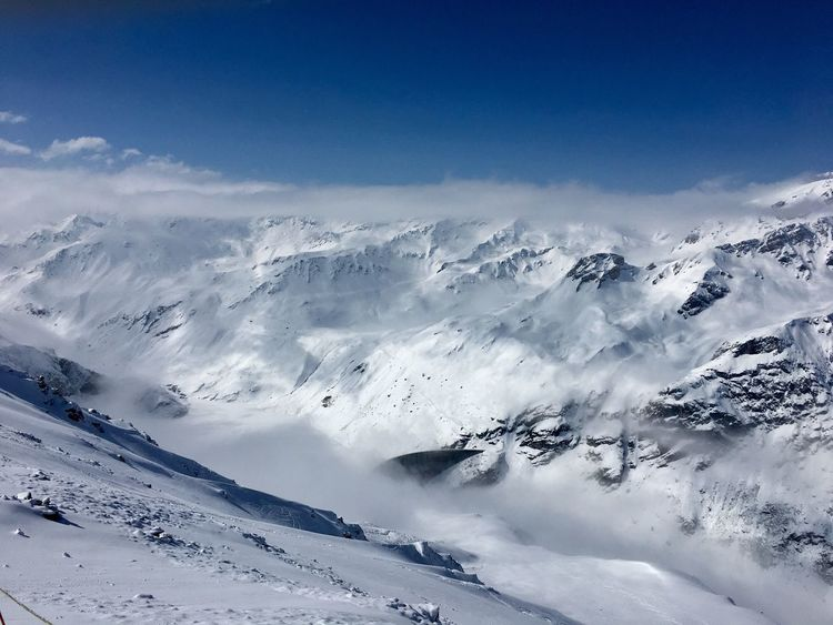 Moiry Grimentz Zinal Val D'Anniviers Valais Switzerland Alps Outdoor Photography Winter Mountain Landscape Shades Of Winter