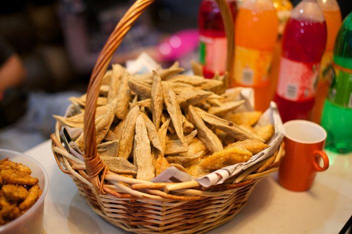 Malaysian Food Basket Culture Food Food And Drink Keropok Keropok Lekor Malay Malay Snack Malaysia Traditional Food