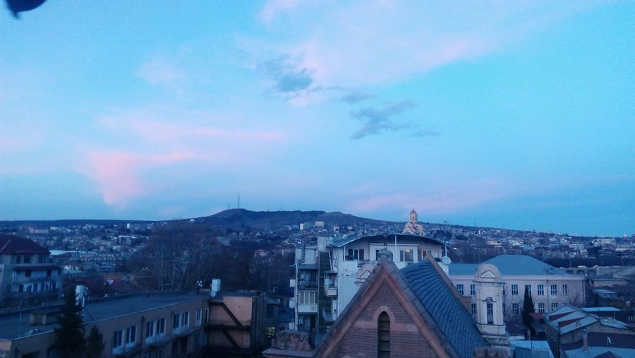 No Filter Tbilisi, shot from Terrrace. City Cityscape Architecture Sky No People Outdoors Horizon Illuminated Blue Night Georgia Georgia Tbilisi Tbilisi Old Tbilisi Clouds Church Weather First Eyeem Photo Built Structure On Top Of A Building Follow4follow Followback F4F Followingback