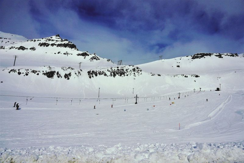 Wintersport Skiing Snow Enjoying Life Easticeland
