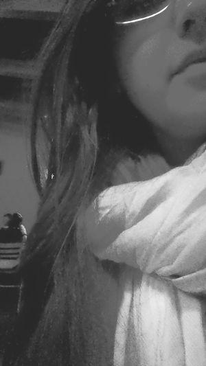 Black & White That's Me Enjoying Night Life