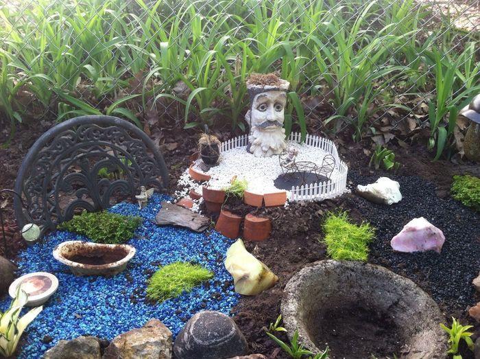 Iowa Fairy Tale Garden Spring My Back Yard