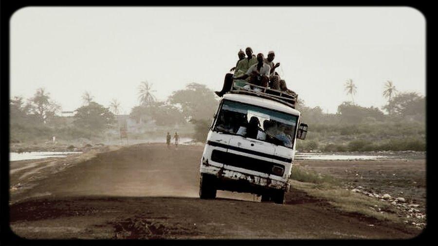 Living Dangerously Non Stop  Senegal Carrapid Large Trip
