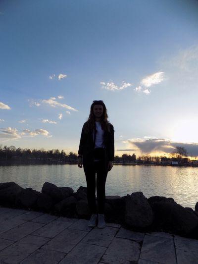 Goodday Sky Lake Nature Hi! Erzurum Me :)  Sunset