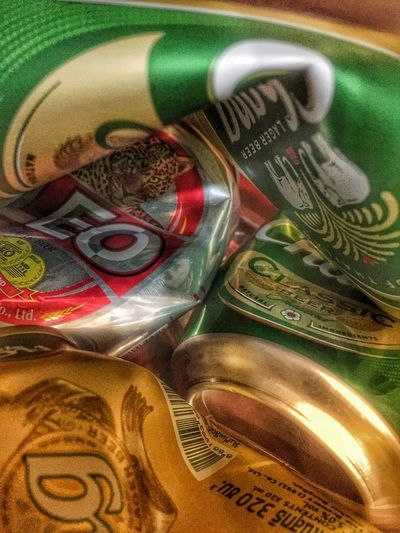 Can Blend Alcohol Abstract Industry Metting Party Beer Close-up Indoors  Multi Colored Still Life No People Backgrounds Wealth Pattern Design