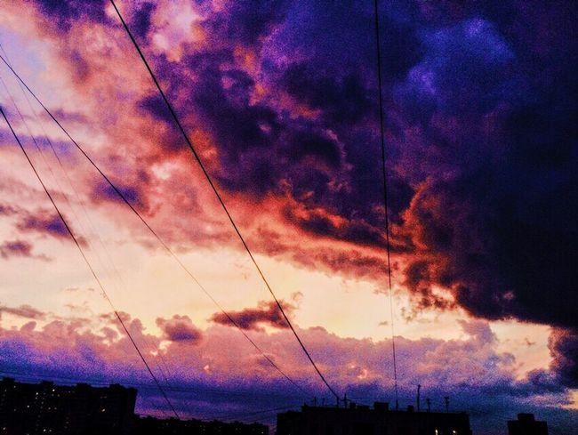 Sky Nature Cloud - Sky No People Beauty In Nature небо на закате прекрасное