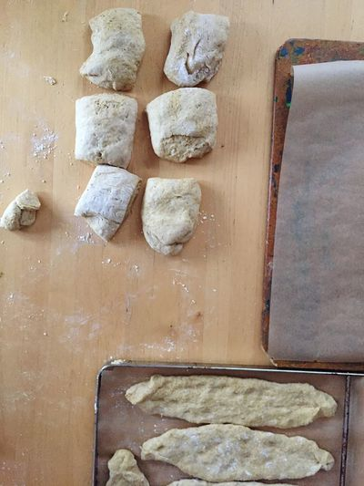 Table Bread Pizza Food Preparation  Piece Chopping Board Freshness Cooking At Home Baking Foodphotography Kneading Dough Kneading Cooking Wood Farina Powder Pastry Dough Baking Bread Flour To Roll Pastry Baking Paper Homemade Speltbread