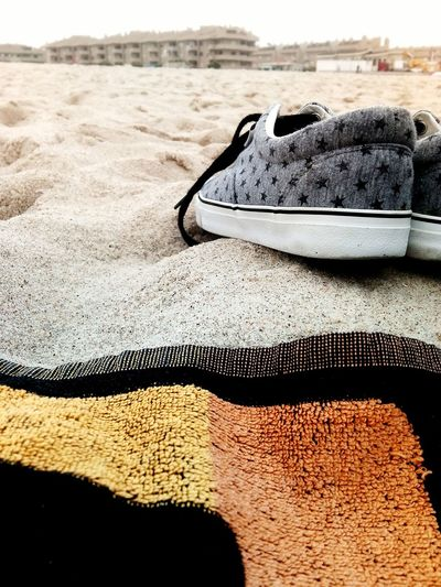 Summertime. just relaxing. Snickers Urban Style Fashion Photography Fashion Old-fashioned Old Snickers Cool Urban Fashion Jungle Water Sand Dune Beach Sand Close-up FootPrint Salt - Mineral Sandy Beach Exfoliation