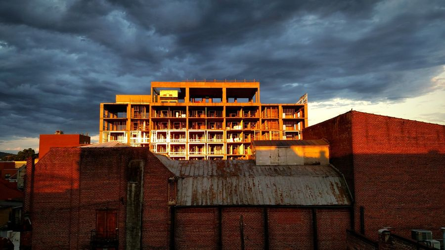 Urbanphotography Cityscapes Charlottesville,VA Downtown Landmark Rooftop Vacant Sunset Sky And Clouds Building Construction View A Bird's Eye View Eyeemphoto EyeEm Best Shots - Architecture The Architect - 2018 EyeEm Awards The Great Outdoors - 2018 EyeEm Awards
