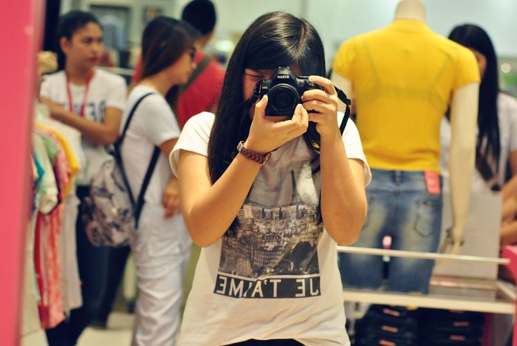 I'll Take A Picture Of Me Nikon Dslr