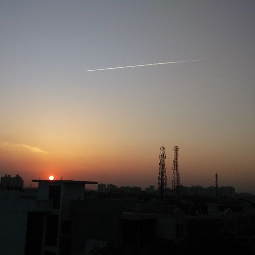 Sunset Gurgaon