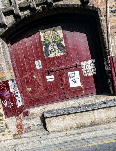 old door Window