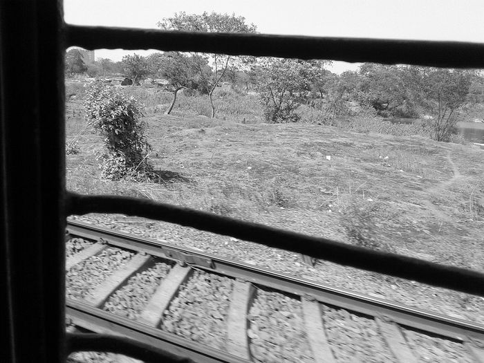 Indianrailways Daytime Travelphotography No People Dry Land Day Sunlight Shadow Outdoors Water Nature Sky Close-up Chalisgoan Maharashtra First Eyeem Photo