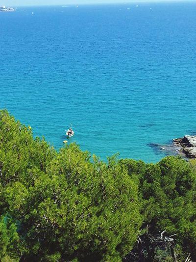 Desde Eden Mar al infinito... Landscape Costa Brava Mediterraneo