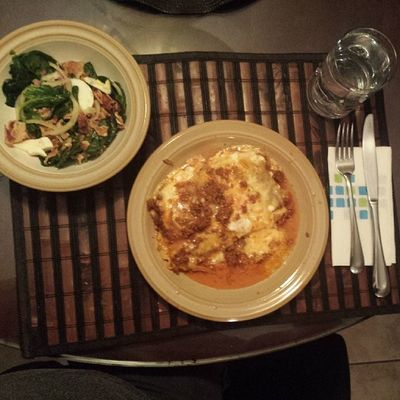 Lasagna night at The Campos Residence! Vivaitalia Mangiare Chefcampini Delicious photooftheday tagsforlikes olivewhat