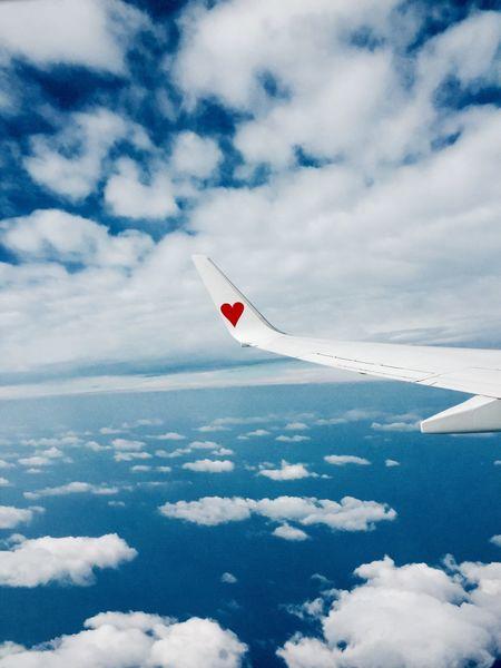 スカイマークの左翼 Iphoneonly IPhone Skyporn Clouds Skymark Airlines