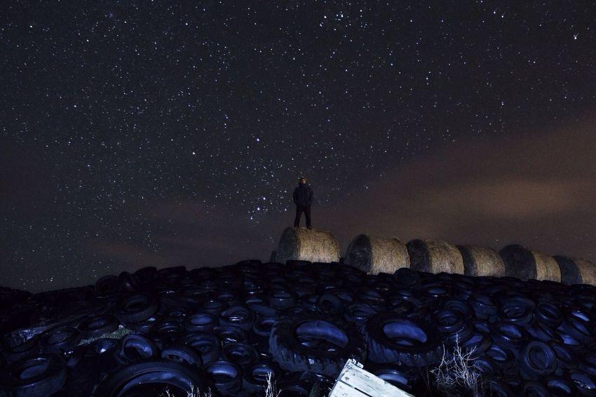Stargazing on New Year's Eve. EyeEm Best Shots Eye4photography Sky_collection Skyporn