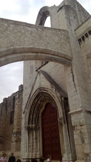 Ruinas Convento Do Carmo Arch Architecture History Religion Built Structure Travel Destinations Day Place Of Worship Building Exterior No People Outdoors