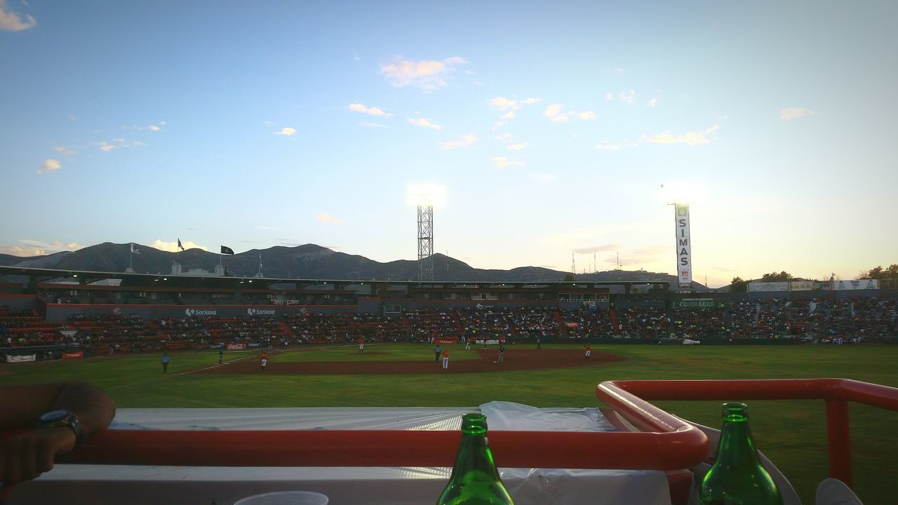 Juego De Béisbol. Estadio Revolución. Vaqueros Laguna (Torreón, Coahuila) V. Saraperos (Saltillo, Coahuila) Beisbol Baseball Game Baseball Game Day Stadium
