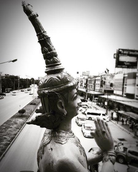 ไหว้ เทวดาพักผ่อน เทวดา Statue Devdas