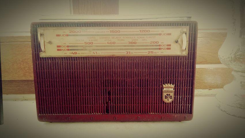 Day No People Antique Nostalgia History Old Radio Grundig