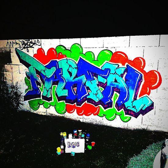 Streetart Fs313 Graffiti Art Wall Graffitiwall Graff Eightballstore Creativity Multi Colored Outdoors Huaweip9photos HuaweiP9 Drawing Handmade 2017 Farfal TOULOUSE TOWN ...by fs313