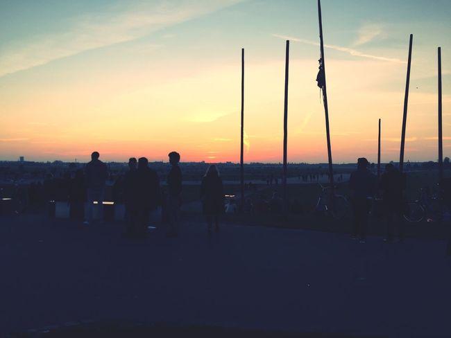 Sunset Tempelhof