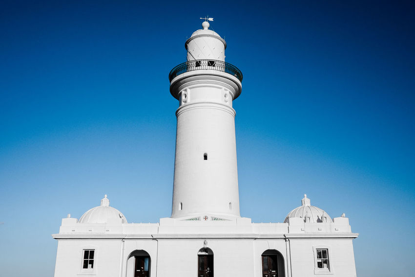 Lighthouse Architecture Architecture_collection Clear Sky Light Lighthouse Lighthouse Beach Lighthouse Tower White Building Blue Clean Clear Houses And Windows Light And Shadow Lighthouse_captures Lighthouse_lovers Lighthousephotography Outdoors Sky Tower White White Structure