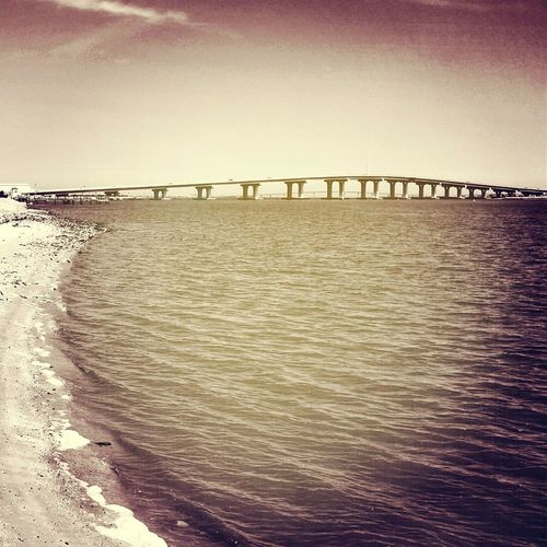 The Ocean City Bridge from High Banks in Somers Point New Jersey. The Shore Starts Here The Great Egg Harbor Bay Bayview Kennedy Park Southjersey Jersey Shore