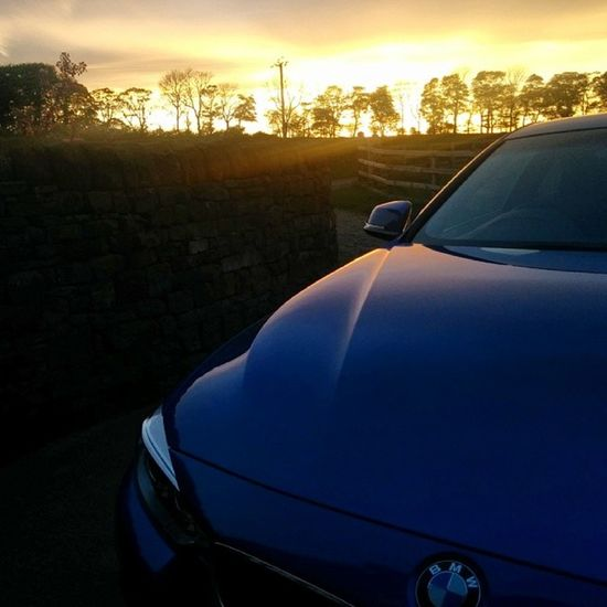 Sunset Westyorkshire Bmw 4series