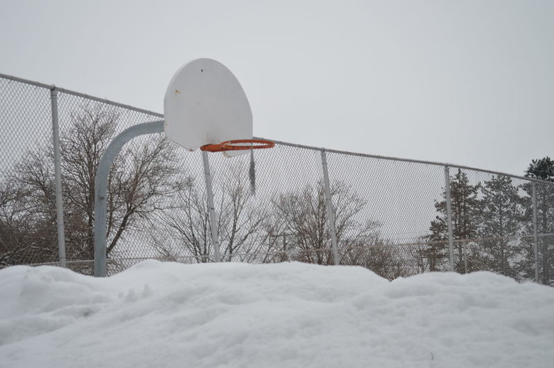 who want to play basketball ? Basketball Beautiful Beautiful Nature Built Structure Cold Temperature Cold Winter ❄⛄ Day Daylight Halifax, Canada Landscape Nature No People Outdoors Playground Pole Sky Snow Snow ❄ Snowy Snowy Days... Snowy Trees Tranquility Tree Weather White