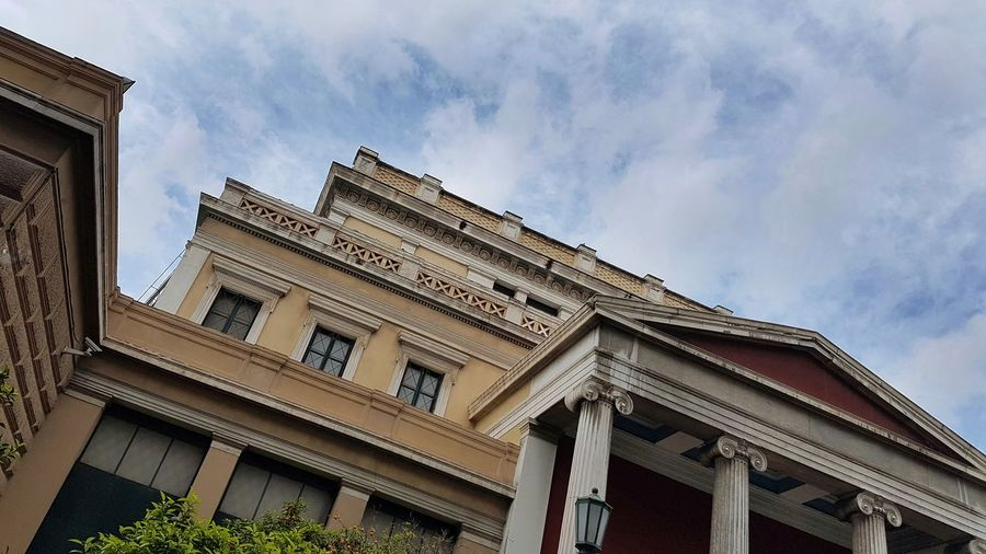 Old Parliament, Athens, Greece Neoclassical Neoclassical Architecture Architecture Greece Athens Ancient Civilization Sky Built Structure The Past Historic