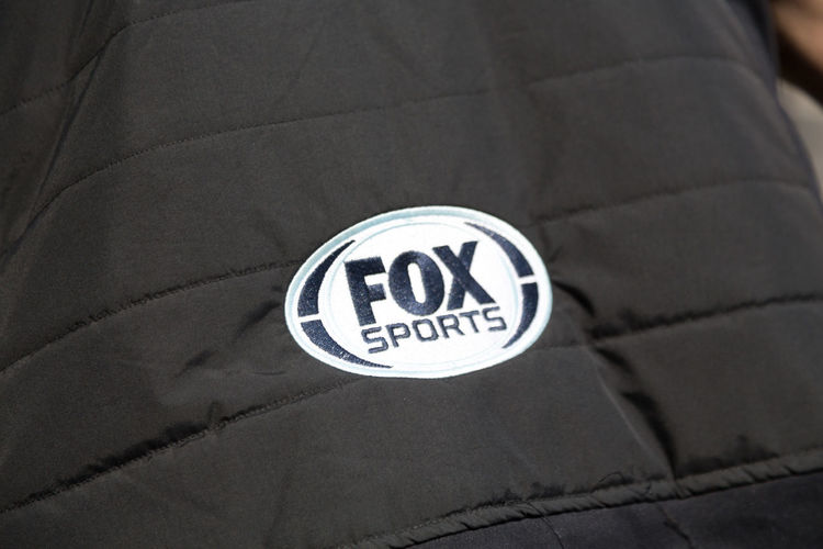Fox sports, sponsor at the FIA Formula E Championship, that is a class of auto racing using only fully electric-powered cars Advertising FOX SPORTS Formula E Formula E 2016 Logo Racing Sponsor Advertisement Close-up Communication Formula E 2016 Formula E Racing Formulae No People Sign Sponsors