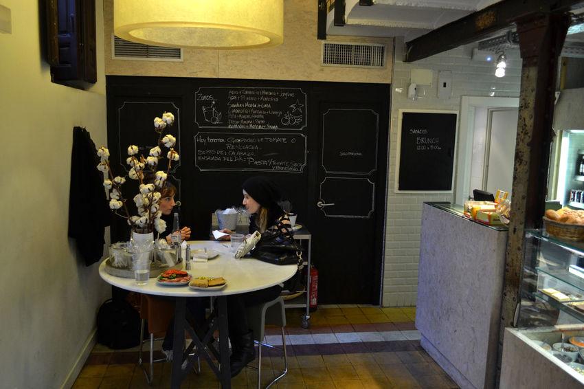 Arrangement Bar Chair Composition Food Home Interior Indoors  Interior Madrid Bars Restaurant Sitting Table