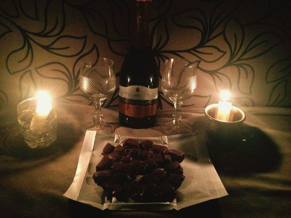 Night Love Togetherness Two People Celebration