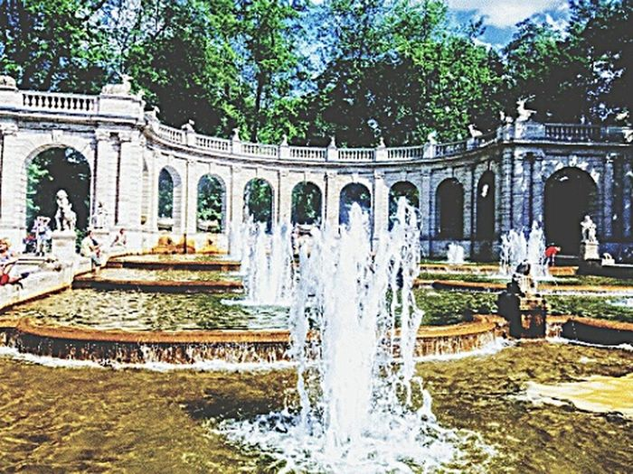 Märchenbrunnen Friedrichshain Water Fountain Architecture Built Structure Travel Destinations Tourism Building Exterior Sculpture Spraying Fountains Around The World Travel Berlin Photography Berliner Ansichten Fountains In Berlin