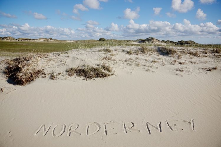 Nature reserve on Norderney Text Sand Beach Outdoors Message Nature Landscape No People Sky Beach Grass Marram Grass Norderney Norderney Ist Mein Hawaii Nature Reserve Word Wort
