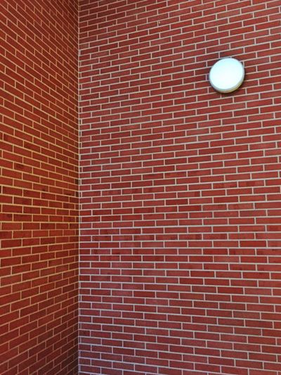 Textured  Brick Wall Brick Vibrant Color Geometric Shape Perspective Architecture Color Palette Built Structure Personal Perspective Interior Abstract Circle Colour Of Life Colors Lighting Equipment