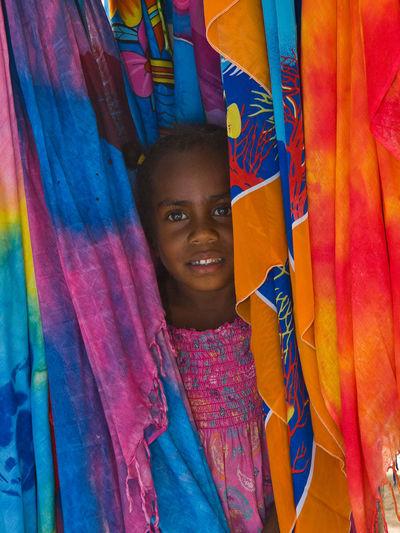 The Locals Pele Island Vanuatu Beach Big Smile Bright Shirt Cherry Blossom Colour Of Life Colourful Nature Holiday Market Stall Native Pride Orange Pacific Beach Pacific Ocean Paradise Beach Pele Island Sarong Sun And Sea Travel Destinations Vanuatu Vivid International
