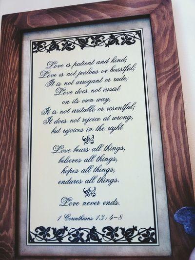 Corinthians 13:4-8 Bible Verses Love Life