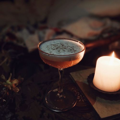 finally uploading my cocktail photos here - if you want a recipe, let me know in the comments or check out my Instagram 🥃 Candle Cocktail Dark Dim Light Food And Drink Glasses Going Out Ice Cube Romantic Spirit Alcoholic Drink Alkohol Bartender Bartending Close-up Cocktails Cozy Delicious Food And Drink Foodphotography Freshness Grated Nutmeg Mixology Recipe Warm Light