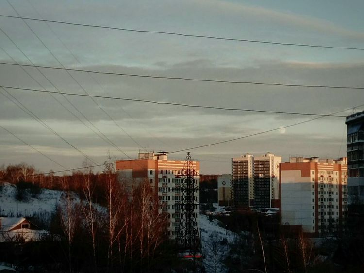 Cloud - Sky Tree Factory Electricity  City Sky Day Water Tomsk Region, Tomsk Plant Business Finance And Industry Social Issues Industry No People Outdoors Industrial Building