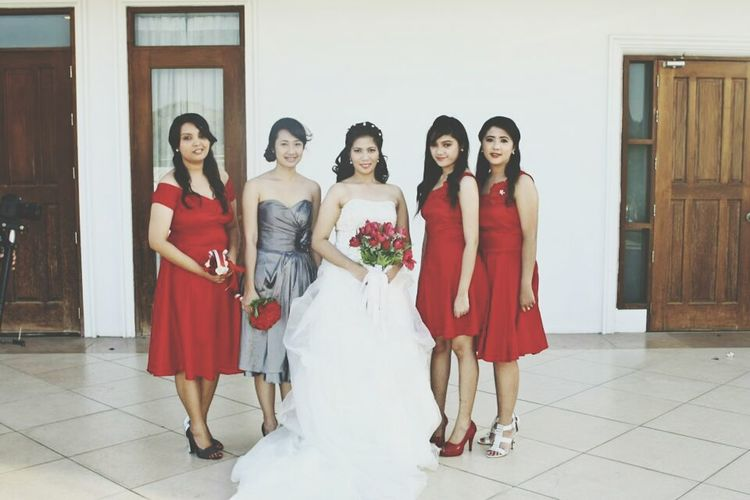 One of the Bridemaids. My cousin' Wedding
